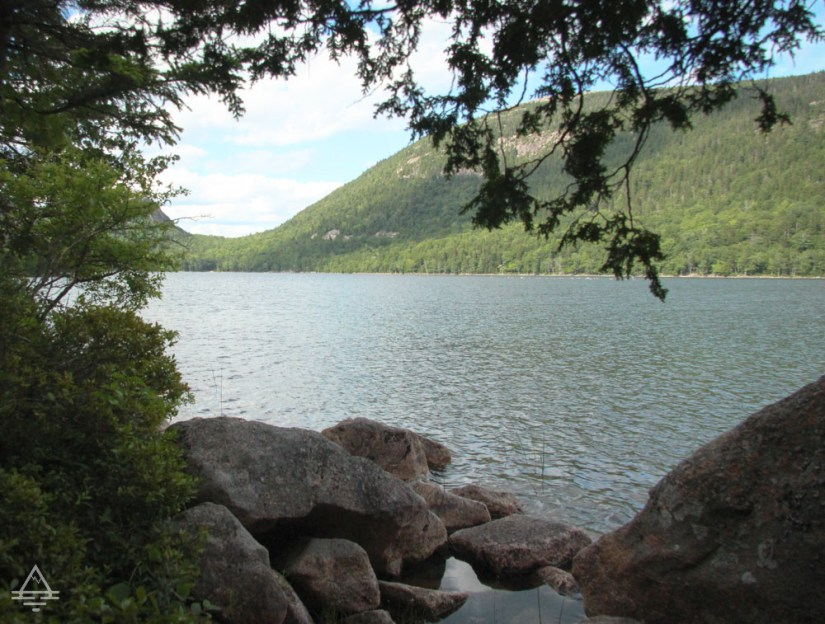 View from Jordan Pond Path - An Acadia National Park Hike