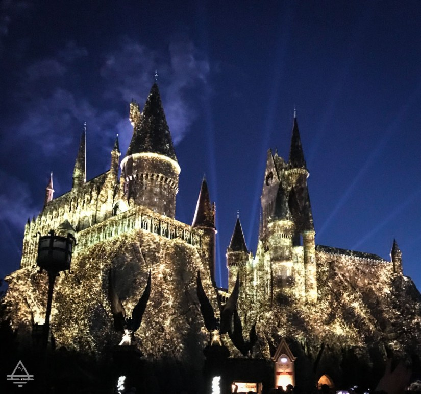 Hogwarts Castle at Universal Studios