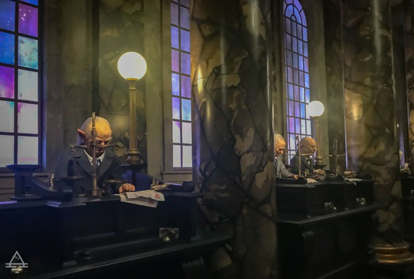Escape from Gringotts Queue