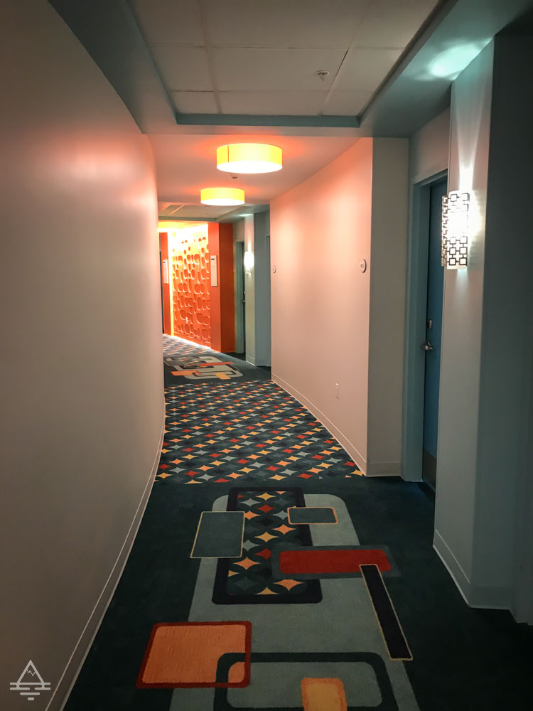 Cabana Bay Beach Resort Beachside Tower Hallway
