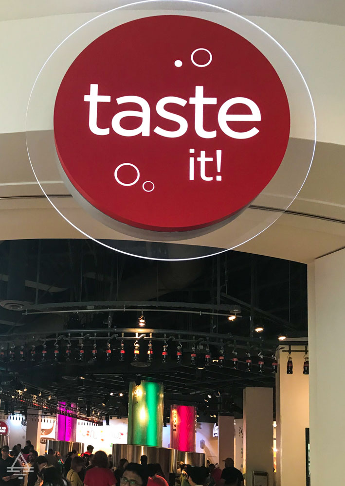 World of Coca Cola Taste It Exhibit