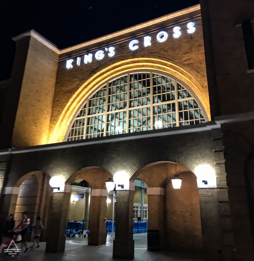 Kings Cross Station in Harry Potter World Orlando