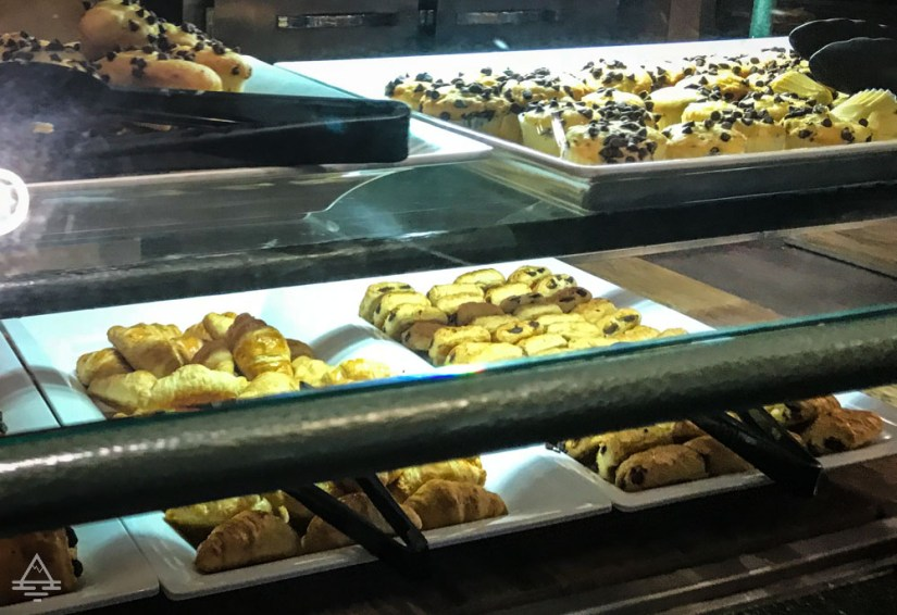 Muffins and pastries at Discovery Cove