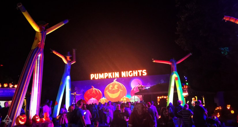 Large pumpkins and dancing at Silver Dollar City Pumpkin Nights