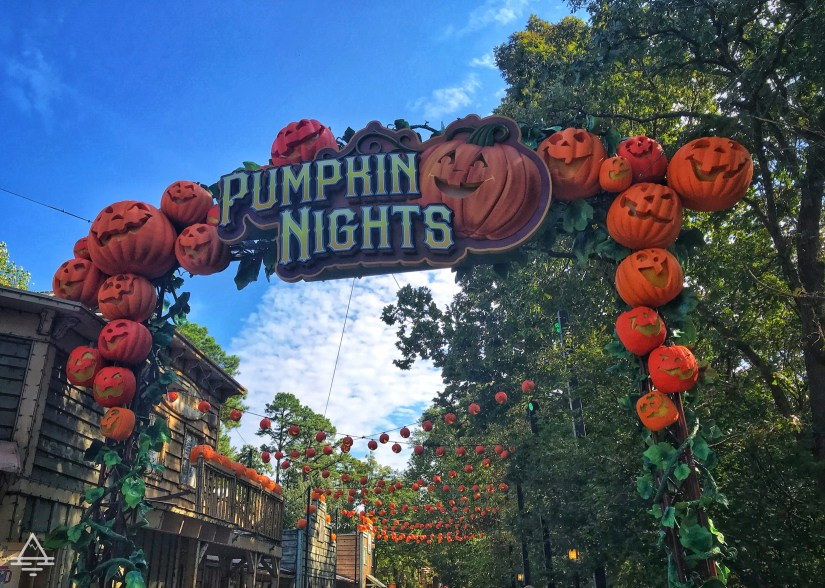 Pumpkin Nights signage