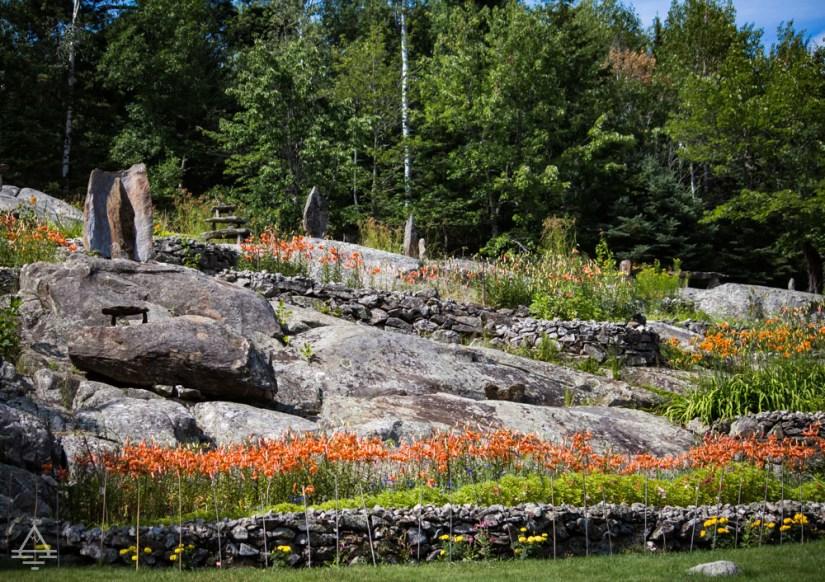 Ellsworth Rock Gardens Flower Beds