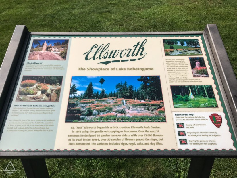 Ellsworth Rock Garden Sign