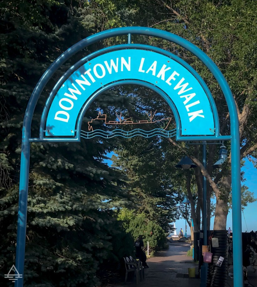Entrance to Duluth Lakewalk