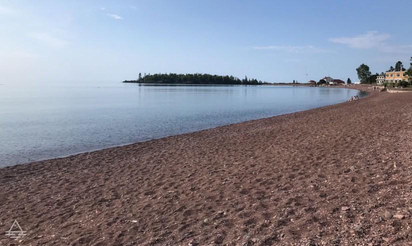 Lake Superior Shoreline in Grand Marais