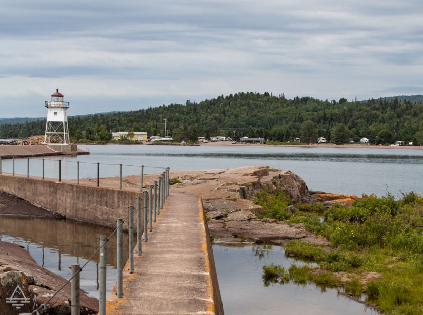 Path to the Lighthouse at the Point in Grand Marais