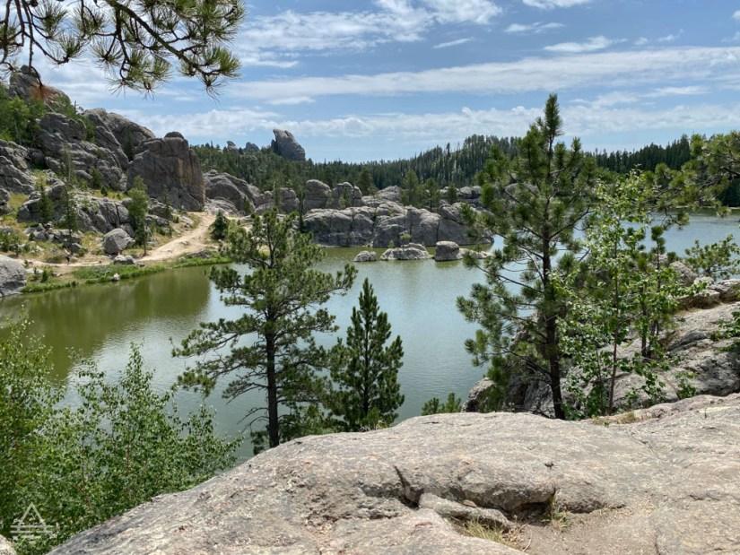 View of Sylvan Lake