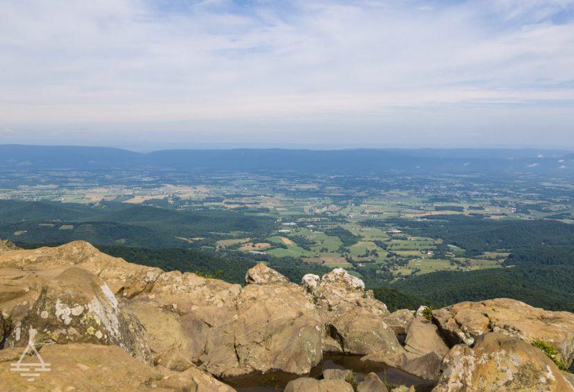 Scenic vista in Shenandoah National Park