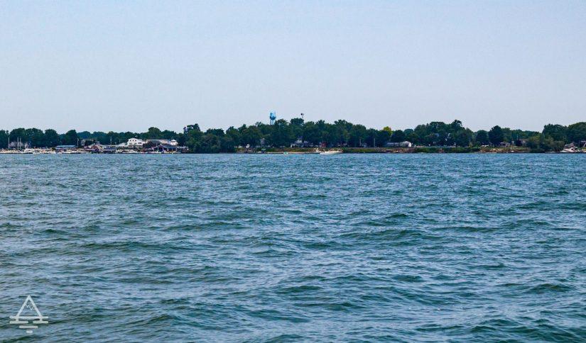 Kelleys Island in Lake Erie