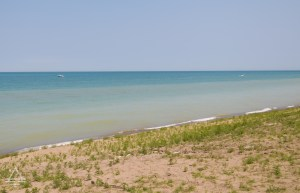 The Shore of Lake Michigan in Indiana Dunes National Park