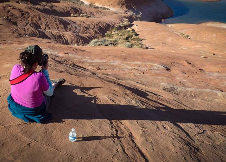 Photographing Lake Powell