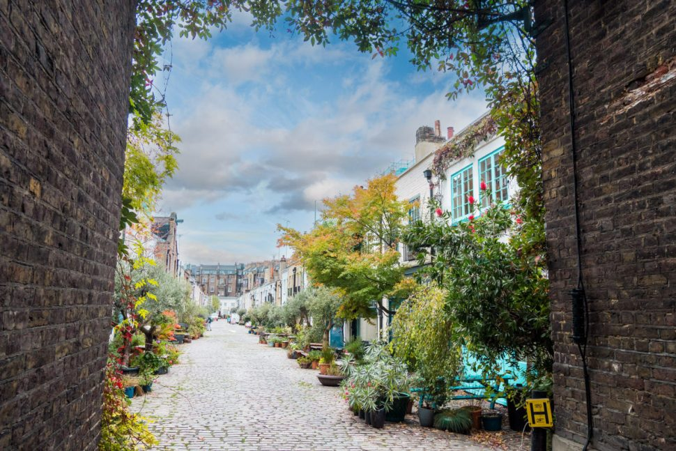 Prettiest streets in London