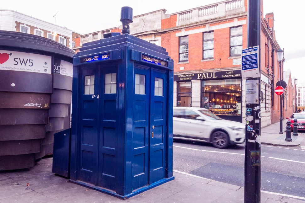 TARDIS Phone Booth, Doctor Who, Nerdy Things To See London