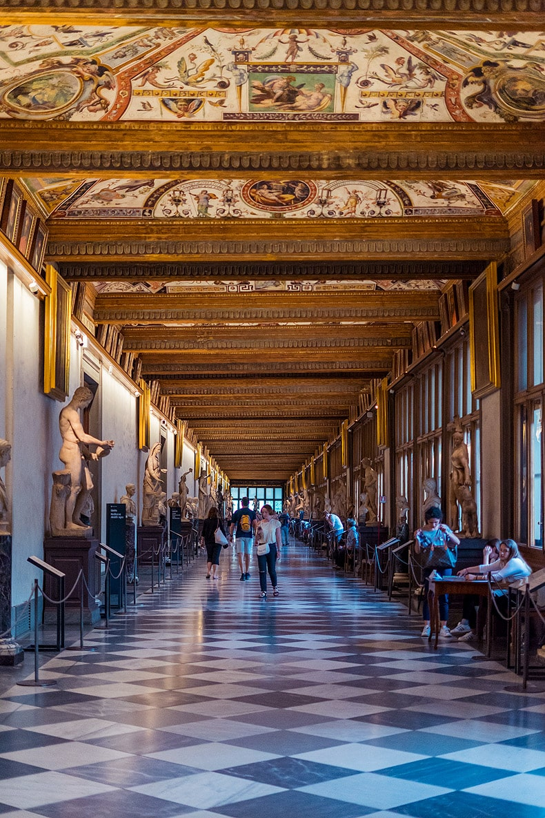 Uffizi - Off The Beaten Path Florence