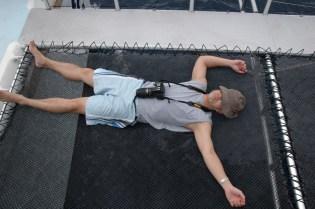 Ryan crashed on cat tramp
