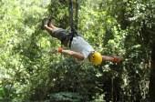 Ryan on Tarzan swing, Titi Canopy2