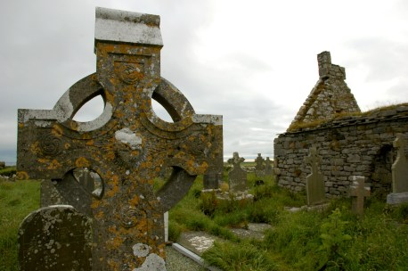 Cross at Doolin cemetery
