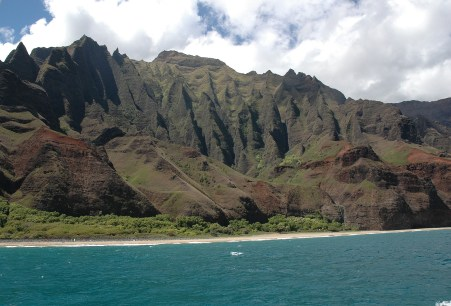 erosion at work, Na Pali
