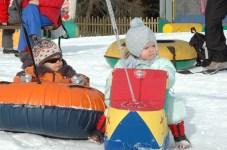 Kids' fun park at Vigo di Fassa, Italy