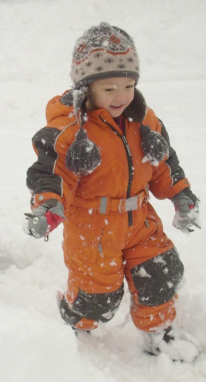 Walking in ski boots