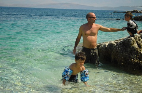 Pipitos beach, Kassiopi