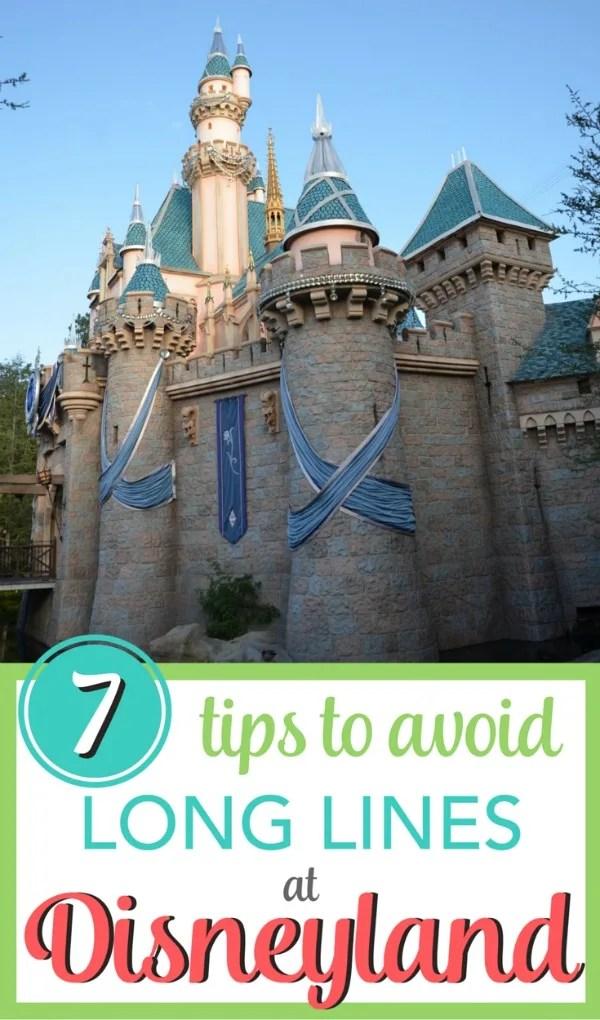 7 Tips for Avoiding Long Lines at Disneyland
