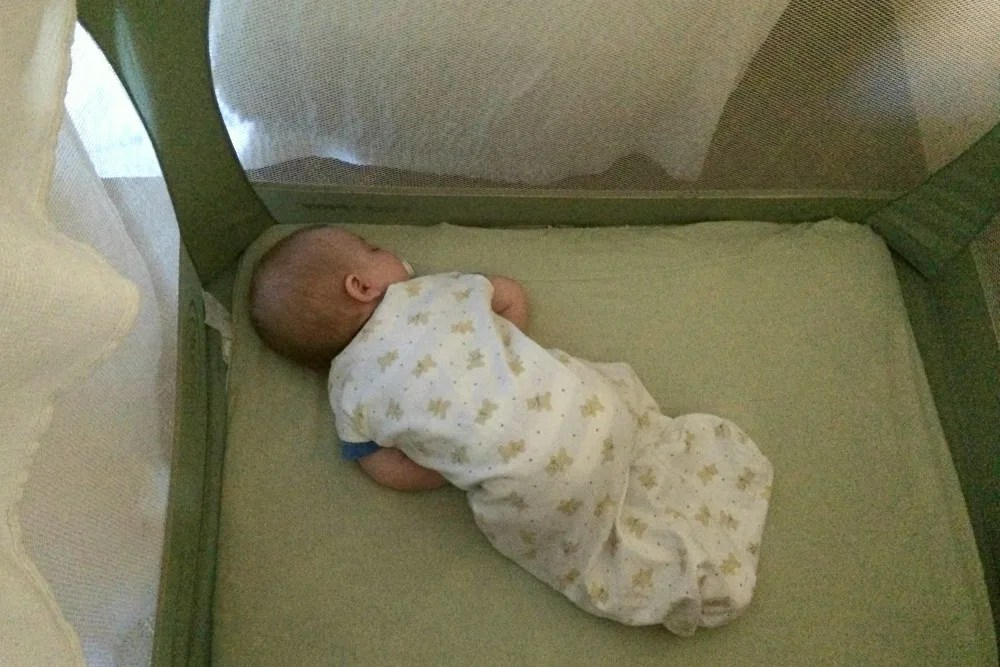 Places for Babies and Toddlers to Sleep in Hotels - Baby in Pack n Play