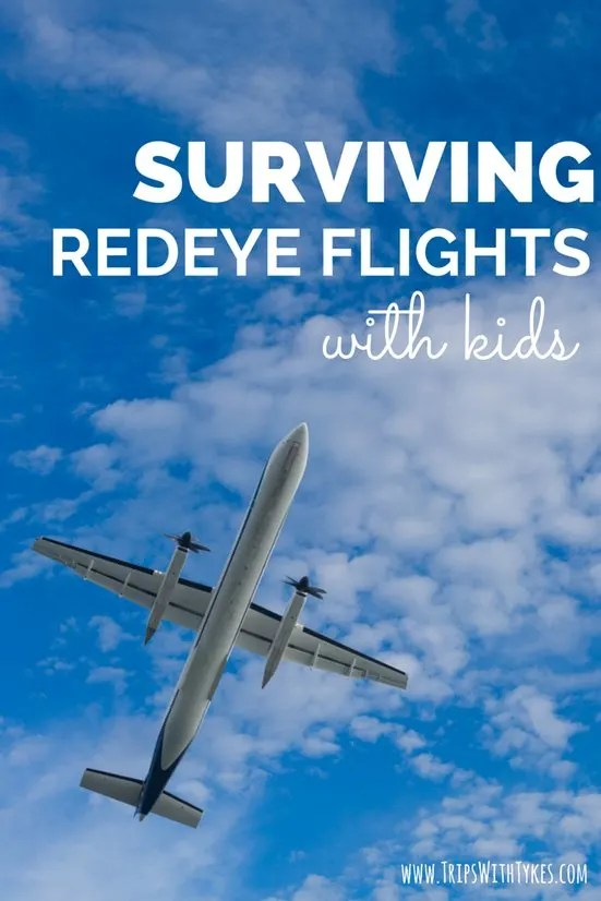 Surviving Redeye Flights with Kids