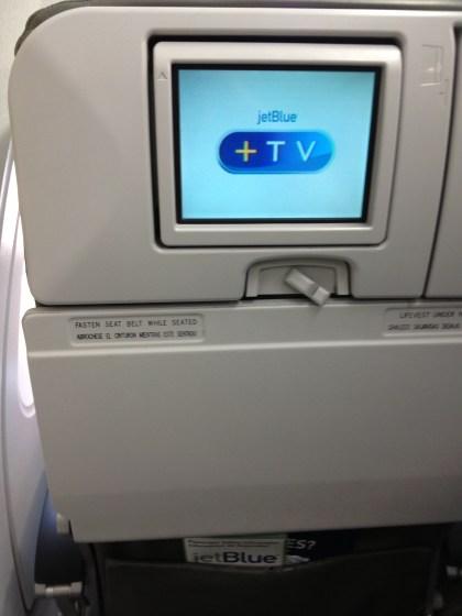JetBlue's In Flight Entertainment