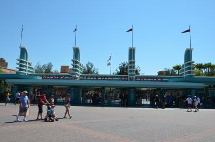 California Adventure at Disneyland entrance: Top 7 Attractions in Disneyland's California Adventure for Toddlers & Preschoolers