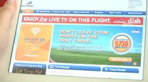 Southwest free in-flight entertainment