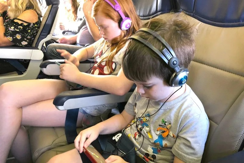 Southwest Airlines with Kids - Free movies