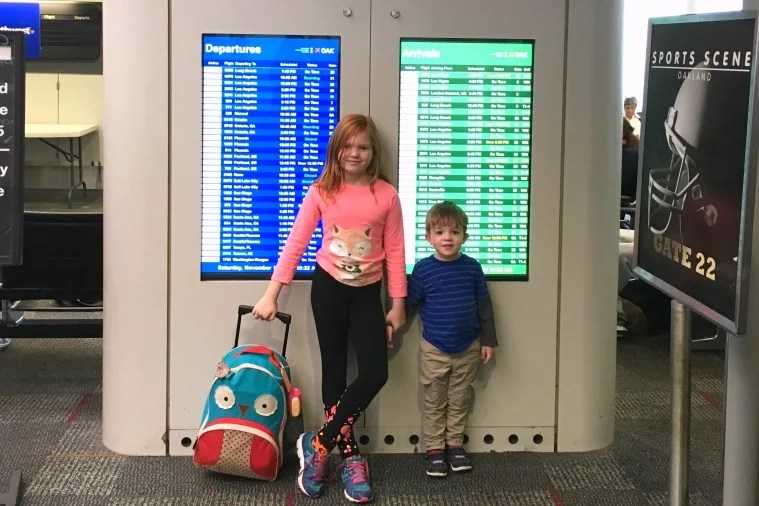 NonStop vs. Connecting Flights with Kids - Airport Flight Arrivals