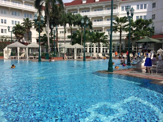 Hong Kong Disneyland Hotel Pool