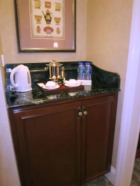 Hong Kong Disneyland Hotel Room Minibar