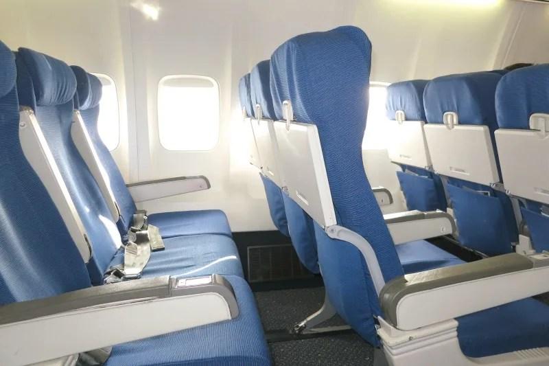 Unaccompanied Minors - Empty Airline Seats