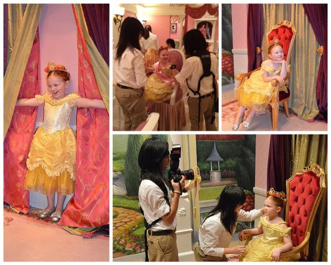 Photo Session at Bibbidi Bobbidi Boutique Hong Kong