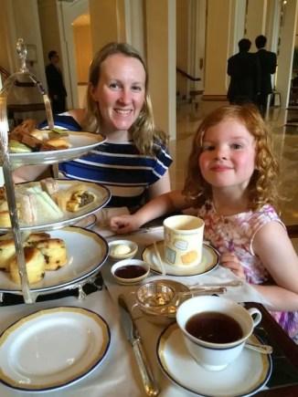 Tea at Peninsula Hotel
