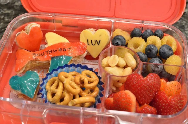 Southwest Airlines Bento: Southwest Luv For Lunch!