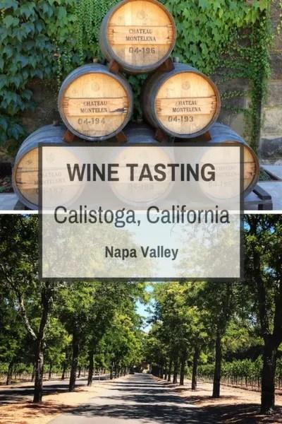 Wine Tasting in Calistoga, California