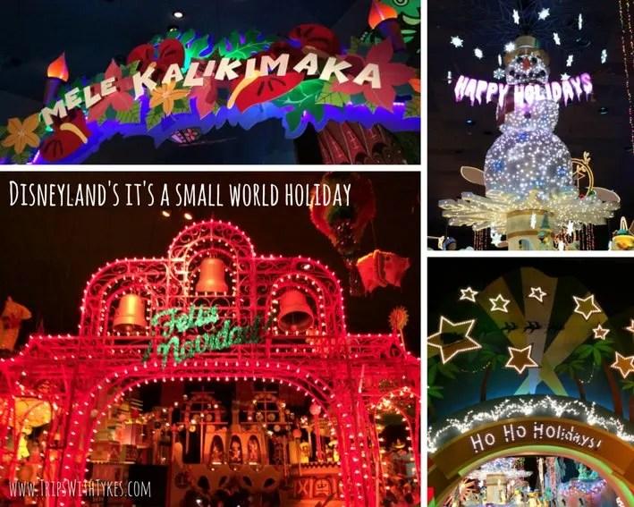 Disneyland It's A Small World Holiday