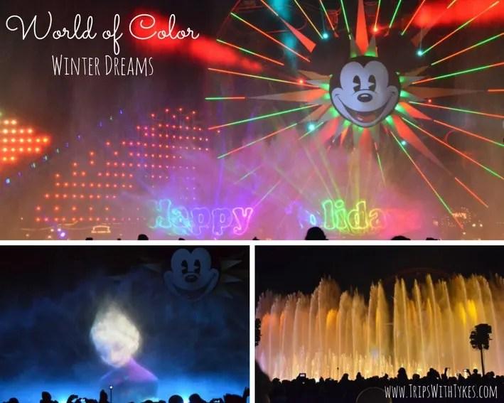 World of Color Winter Dreams Disneyland