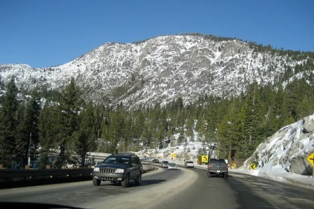 Drive from Bay Area to Tahoe
