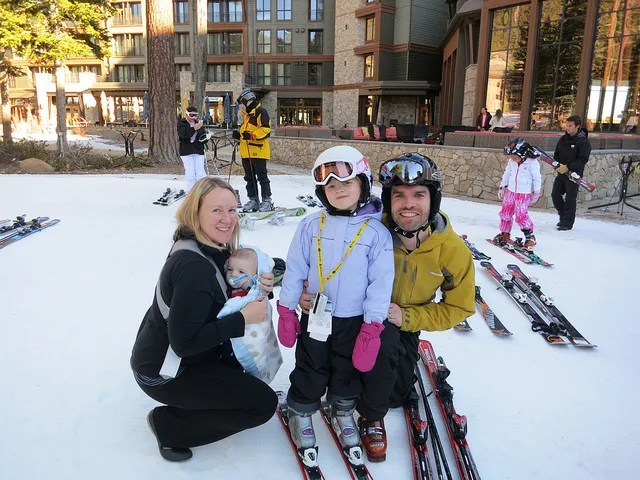 Family fun at Northstar California - Lake Tahoe with Kids