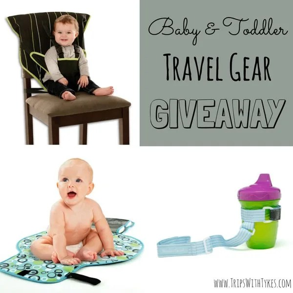 Baby & Toddler Travel Gear Giveaway: Easy Seat, On-The-Go Changing Pad & SippiGrip