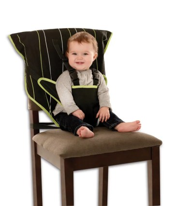 Cozy Cover Easy Seat Review: A full review of the Cozy Cover Easy Seat, which tackles a common problem for travelers with babies and toddlers - no high chair.